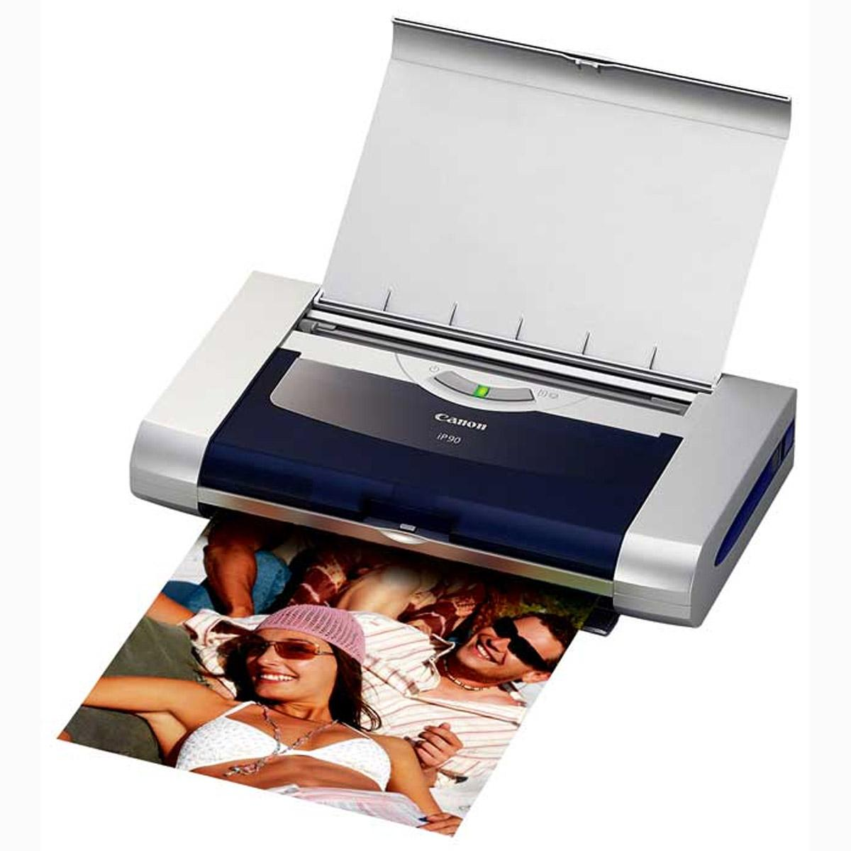 Canon pixma ip90 inkjet photo printer