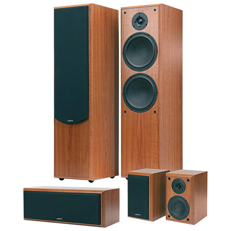 Permanent link: jamo s426 hcs 3 wenge 5-piece home theater system reviews face